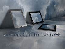 Connected to be Free Stock Images