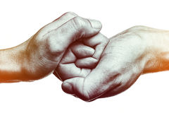 Connected  together and forever. Stock Image