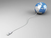 Connected World Royalty Free Stock Photography
