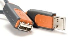 Connecteur d'USB Images stock