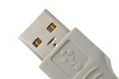Connecteur de câbles d'ordinateur comme visage de robot Photo libre de droits