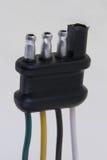 Connecteur de fil Photo stock