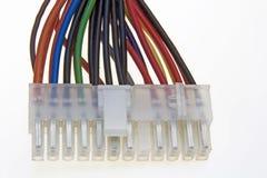 Connecteur de pouvoir d'Atx image stock