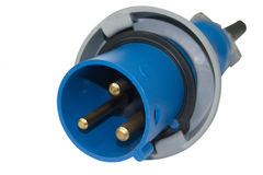 Connecteur de puissance élevée Photo stock