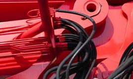 Connecteur hydraulique Images stock