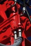 Connecteur hydraulique. Images libres de droits