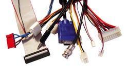 Connecteurs d'ordinateur Photo stock
