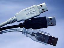 Connecteurs d'USB Image stock