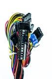 Connecteurs de bloc alim. Photographie stock