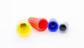 Connecteurs de câblage Images stock