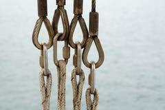 Connecteurs de corde Photos stock