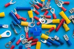 Connecteurs de l'électronique Images stock