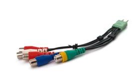 Connecteurs de TV photo stock