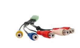 Connecteurs de TV image libre de droits