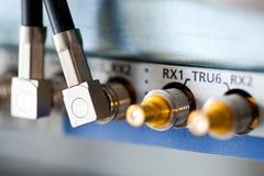 Connecteurs du câble d'alimentation BTS de GM/M Photos stock