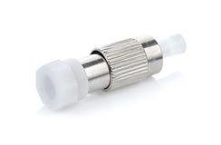 Connecteurs optiques de fibre, St, Sc et FC photographie stock