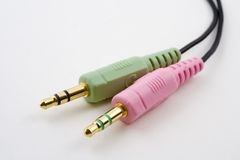 Connecteurs sonores Image stock