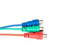 connecteurs trois Photo libre de droits