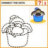 Connectez les points Image libre de droits