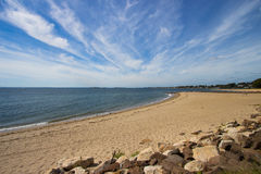 Connecticut Coastline Stock Photo