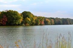 Connecticut湖II 库存照片