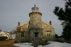 Connecticut-Leuchtturm Stockfotos