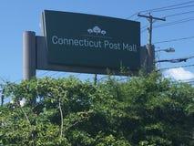 Connecticut Post centrum handlowe Obraz Royalty Free