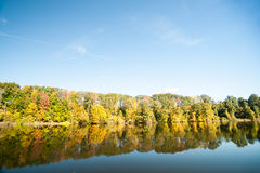 Connecticut River, morning calm Royalty Free Stock Photos