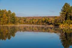 Connecticut River sikt Arkivfoton