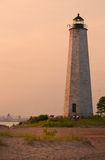 Connecticut's File Mile Point Lighthouse Royalty Free Stock Images