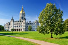 Connecticut stanu Capitol fotografia royalty free