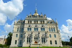 Connecticut stanu Capitol, Hartford, CT, usa fotografia royalty free