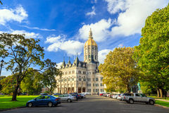 Connecticut State Capitol in Hartford, Connecticut Royalty Free Stock Photo