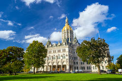 Connecticut State Capitol in Hartford, Connecticut Royalty Free Stock Image