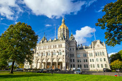 Connecticut State Capitol in Hartford, Connecticut Royalty Free Stock Images