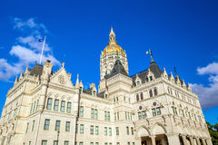 Connecticut State Capitol in Hartford, Connecticut Stock Photos