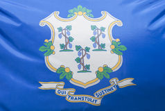 Connecticut State Flag Royalty Free Stock Photos