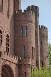 Connecticut Street Armory. A portion of the Connecticut Street Armory castle in Buffalo New York Stock Photography