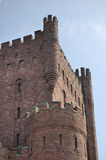 Connecticut Street Armory. A portion of the Connecticut Street Armory castle in Buffalo New York Stock Photos