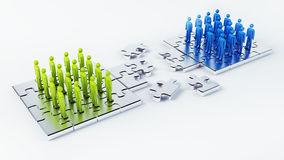 connecting stock illustratie