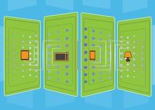 connecting vector illustratie