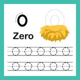 Connecting dot and printable numbers exercise. With lovely cartoon for preschool and kindergarten kids illustration, vector vector illustration