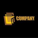 Connecting logo royalty free stock photo