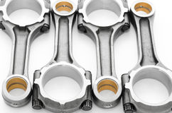 Connecting rods - auto spare parts Stock Image