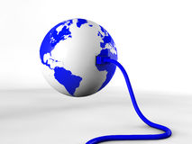 Connecting the world Royalty Free Stock Image