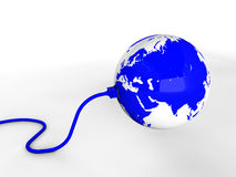 Connecting the world Stock Images
