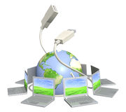 Connection stock illustration