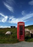Connection. Everwhere in scotland you con find these telephone boxes royalty free stock image