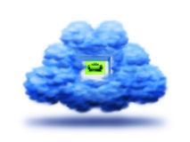 Connection cloud Royalty Free Stock Photos