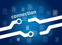 Connection concept Stock Images